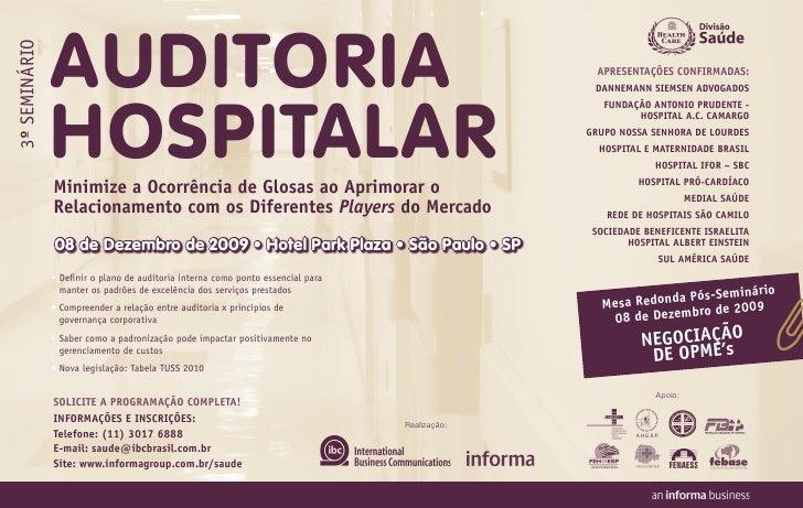 AUDITORIA 3º SemiNário                                                                                                   A...