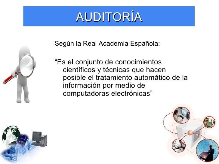 Auditoria informatica Slide 3