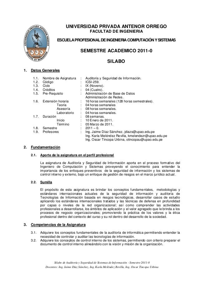 UNIVERSIDAD PRIVADA ANTENOR ORREGO                                                  FACULTAD DE INGENIERIA                ...