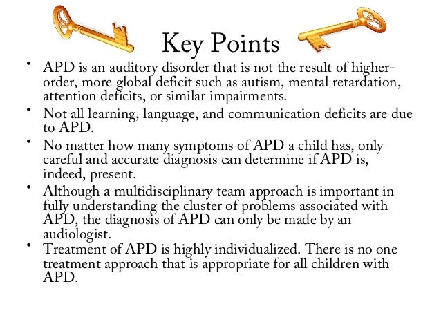 Auditory Processing Disorder 3