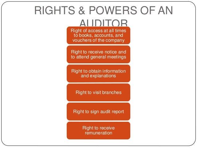 company auditor ppt