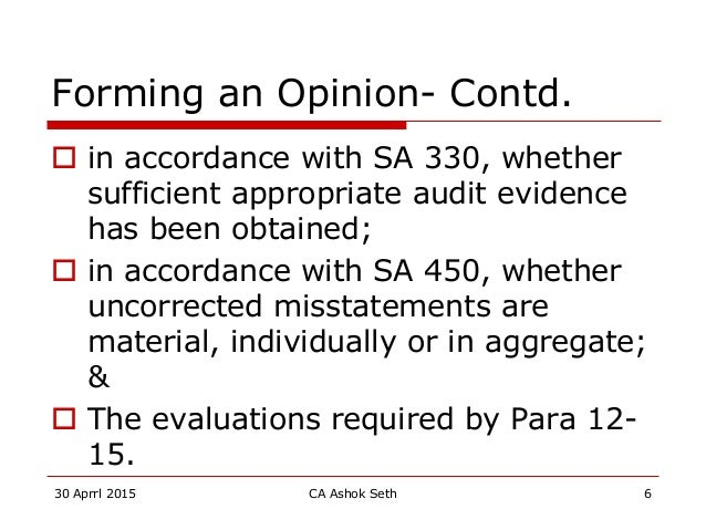 audit and seth Responsible for leading the company's assessment of internal controls over  financial reporting, sarbanes-oxley compliance and other non-audit governance .