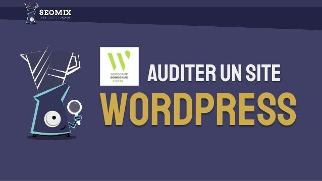 Auditerunsite WordPress