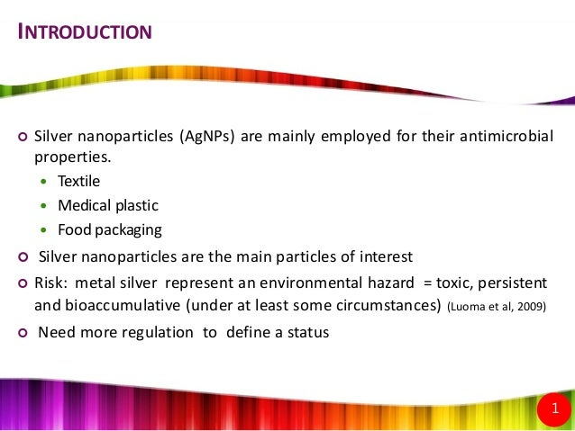 properties of silver nanoparticles