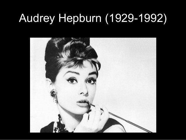Audrey Hepburn (1929-1992)