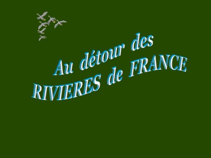 Au dtour des rivires de France