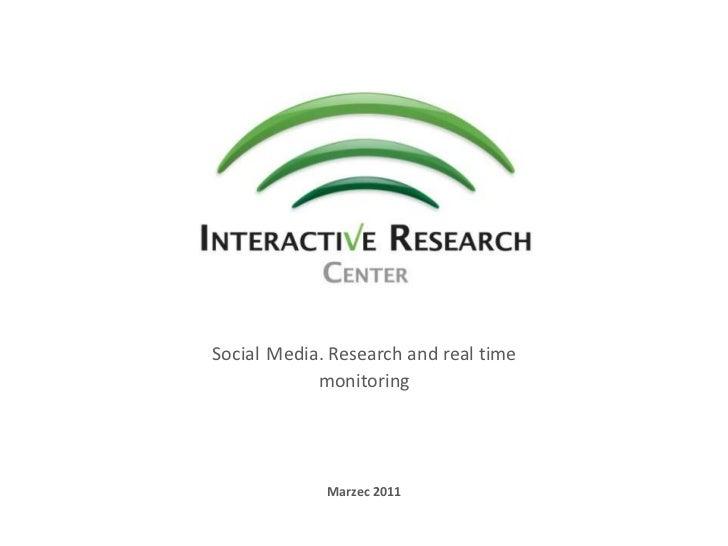 Badania wizerunku i obecności marki w mediach społecznościowych