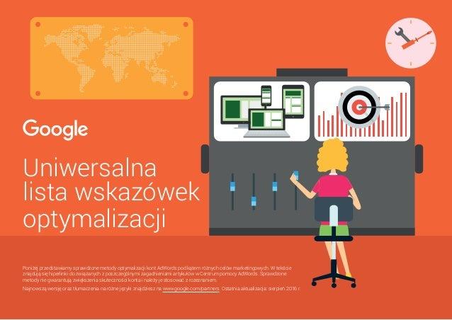 Audyt Różnych Rodzajów Kampanii Google Adwords