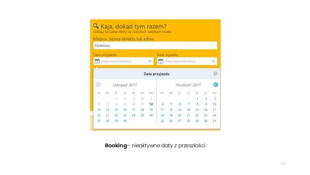68 Booking– nieaktywne daty z przeszłości