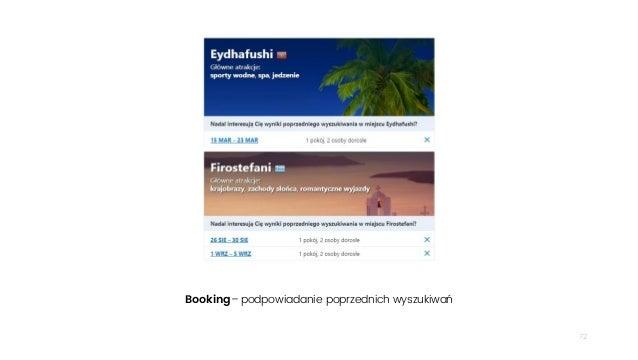 72 Booking– podpowiadanie poprzednich wyszukiwań