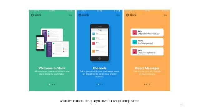 89 Slack– onboarding użytkownika w aplikacji Slack