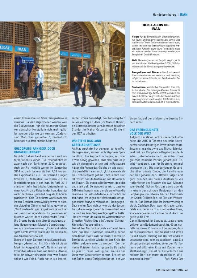 Au Enwirtschaft Im Fokus Das Bayern International Magazin