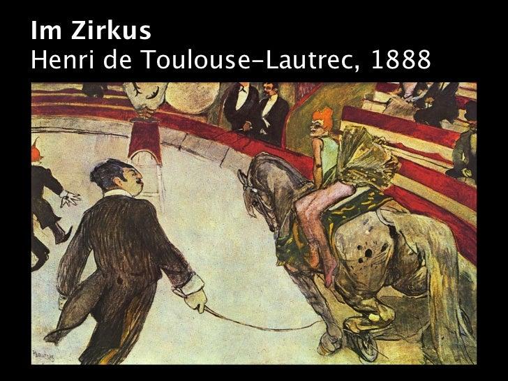 Im ZirkusHenri de Toulouse-Lautrec, 1888