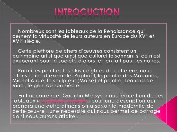 Préparé par :       Hanane TAOUDI     Etudes françaisesHistoire des Idées & des Arts