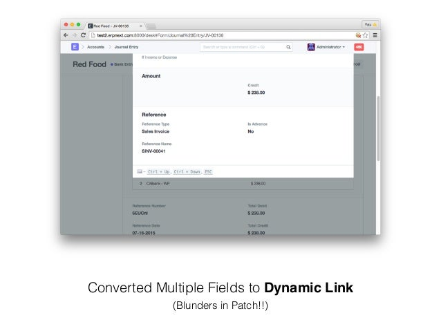 Converted Multiple Fields to Dynamic Link (Blunders in Patch!!)