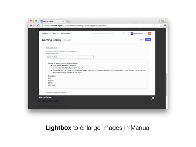 Lightbox to enlarge images in Manual