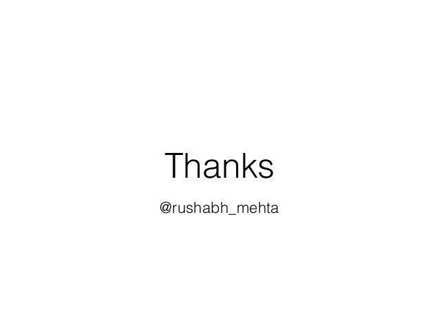 Thanks @rushabh_mehta