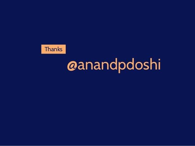 @anandpdoshi Thanks