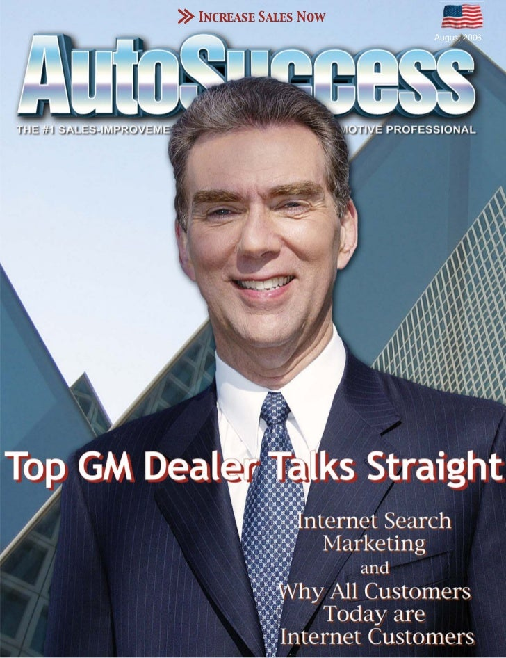 Increase Sales Now                     August 2006