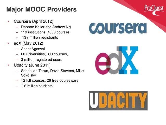 About Mooc Courses Usa Edx Coursera Udacity Providers List
