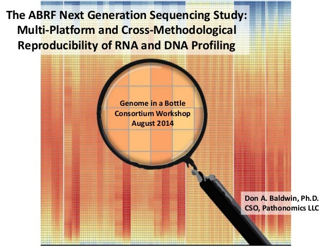 The ABRF Next Generation Sequencing Study: Multi-Platform and Cross-Methodological Reproducibility of RNA and DNA Profilin...