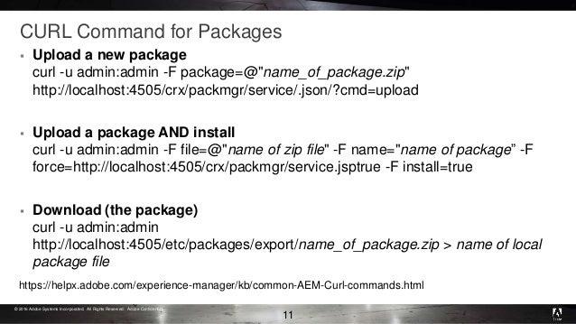 Adobe AEM Office Hour : Managing AEM Deployment PPT