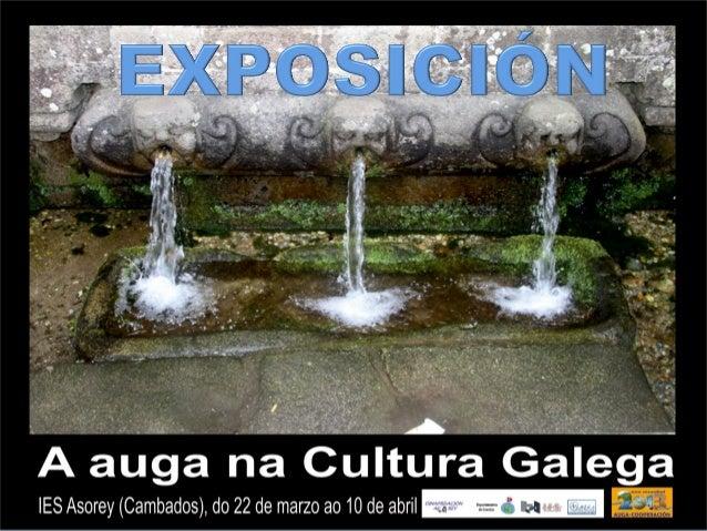 Auga na cultura galega exposición