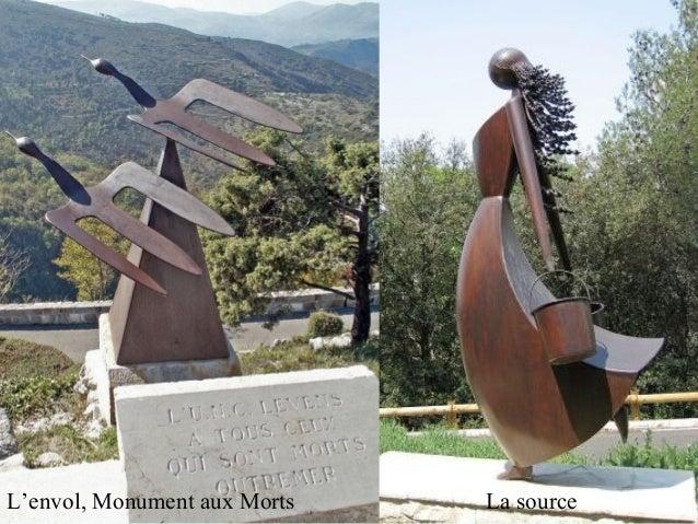 L'envol, Monument aux Morts La source