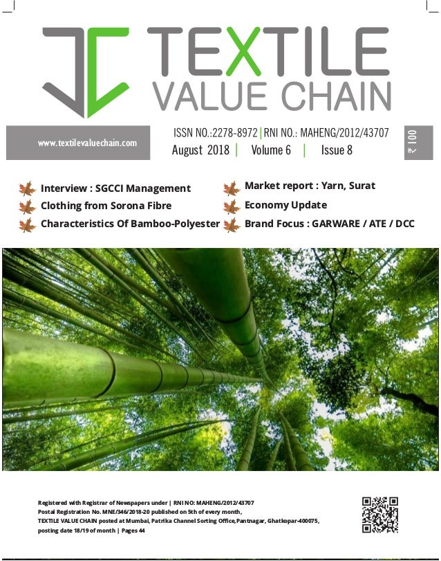 AUGUST ISSUE 2018