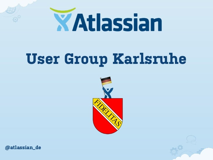 User Group Karlsruhe@atlassian_de