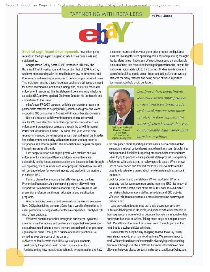 Loss Prevention Magazine September-October http://digital.losspreventionmagazine.com