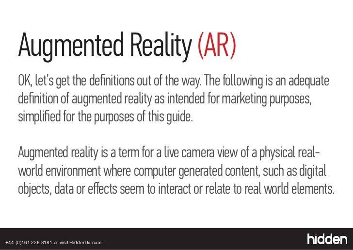 Augmented reality marketing strategies: The how to guide for