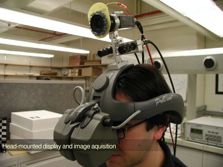 Head-mounted display and image aquisition<br />