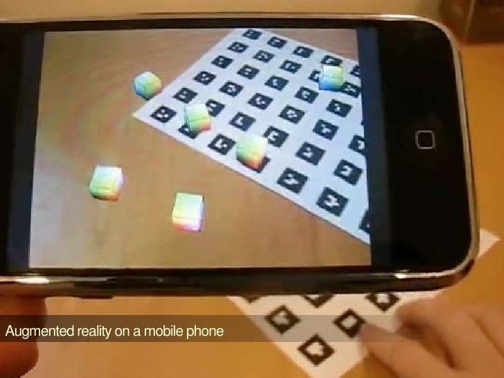 Augmented reality on a mobile phone<br />
