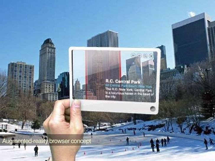 Augmented-reality browser concept<br />