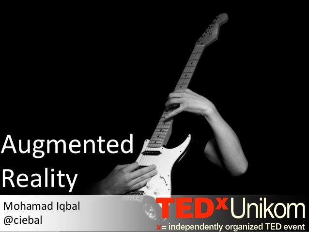 AugmentedRealityMohamad Iqbal@ciebal