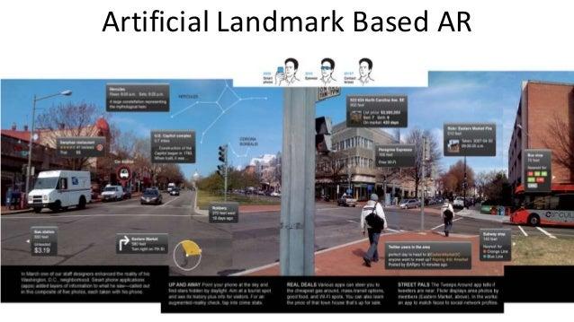 Artificial Landmark Based AR