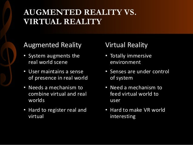 the definition of the different forms of computer virtual reality How does virtual reality work  and uses a technique called stereoscopy that feeds slightly different images to each eye  a computer-generated environment is .