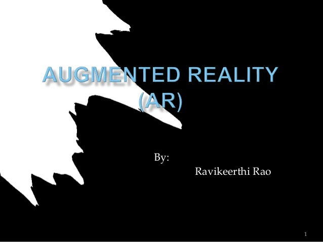 By: Ravikeerthi Rao 1