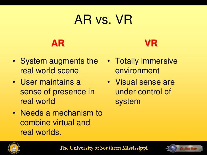 virtual reality environments for geographic visualisation essay Furthermore, we discuss the impacts of new technologies, such as virtual reality  displays and augmented reality helmets on the big data visualization as well.