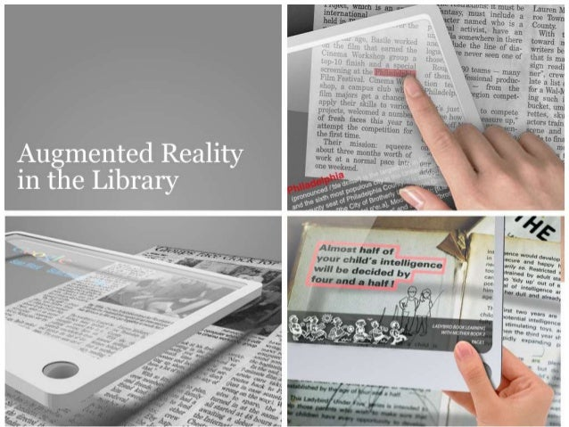 Augmented Reality - for libraries