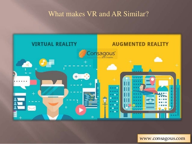 Augmented Reality Vs Virtual Reality: How Is AR Different From VR
