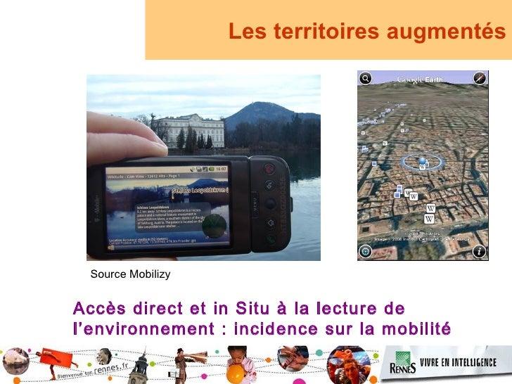 Les territoires augmentés      Source Mobilizy   Accès direct et in Situ à la lecture de l'environnement : incidence sur l...