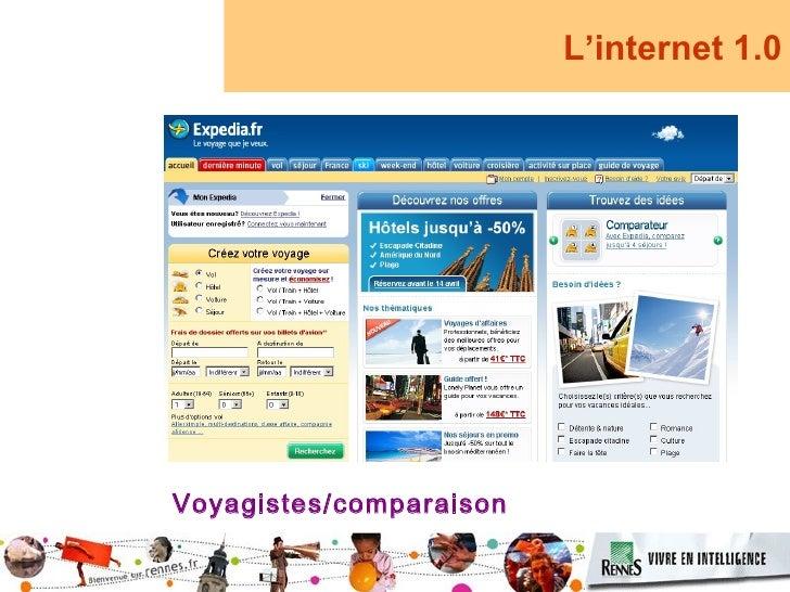 L'internet 1.0     Voyagistes/comparaison