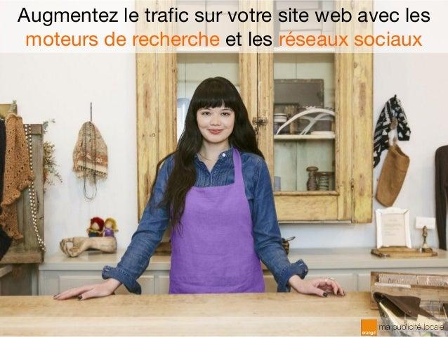 Augmentez le trafic sur votre site web avec les moteurs de recherche et les réseaux sociaux