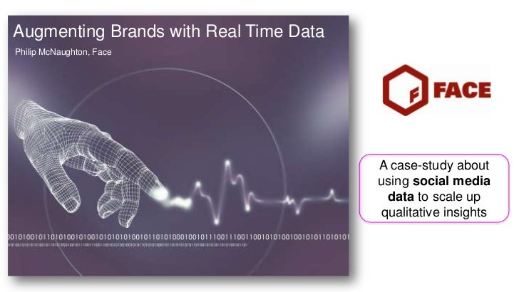 Augmenting Brands with Real Time DataPhilip McNaughton, Face                                        A case-study about    ...