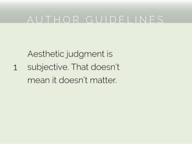 AAUP 2015: Does It Have to Be Blue? - Author Guidelines (R. Ehle)