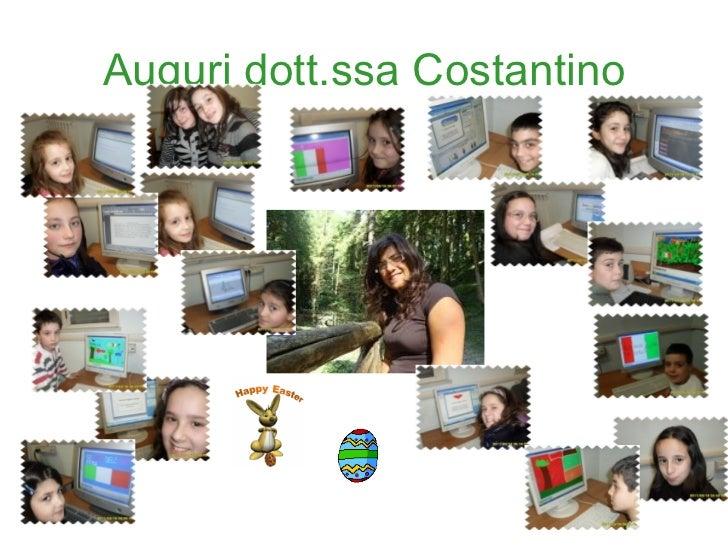Auguri dott.ssa Costantino