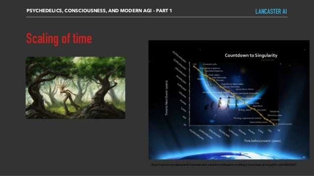 Scaling of time PSYCHEDELICS, CONSCIOUSNESS, AND MODERN AGI – PART 1 LANCASTER AI https://medium.com/@rayzer42/holochain-a...