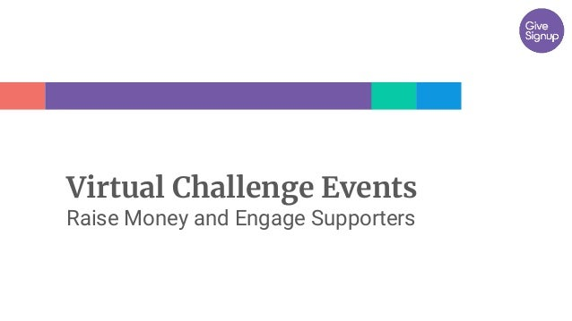 Virtual Challenge Events Raise Money and Engage Supporters